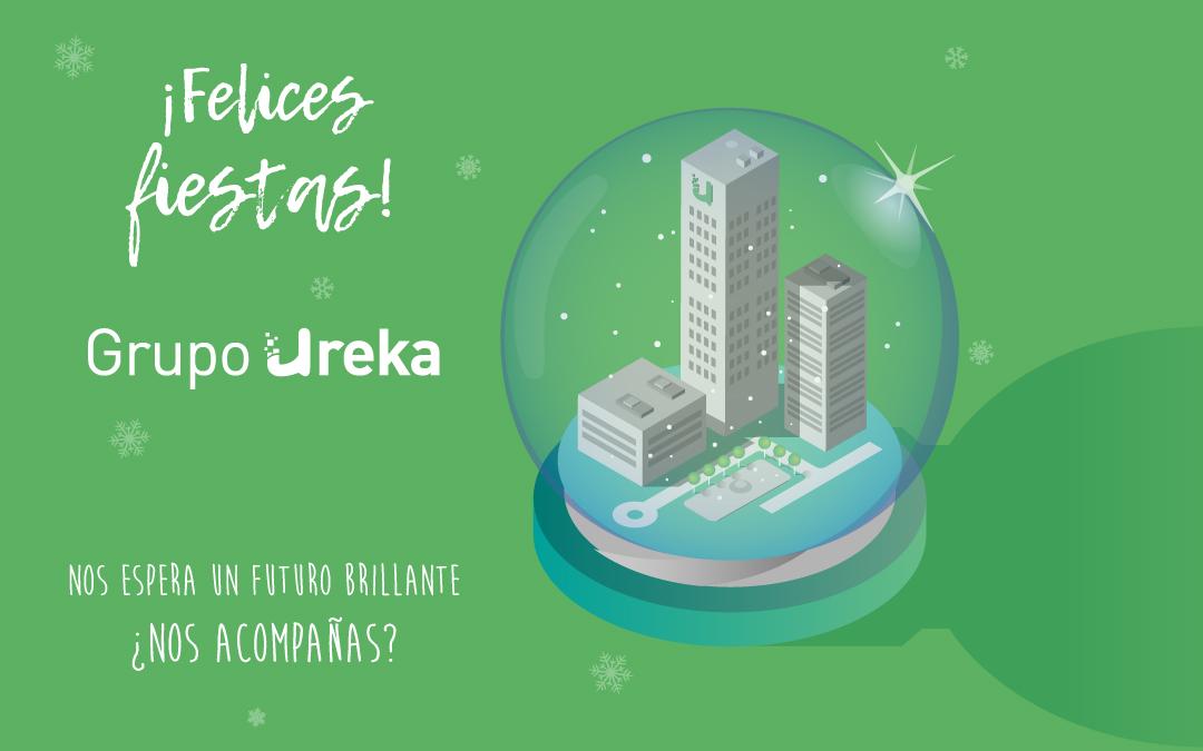 Grupo Ureka os deseamos Felices Fiestas